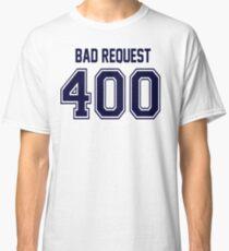 Error 400 - Bad Request - Navy Classic T-Shirt