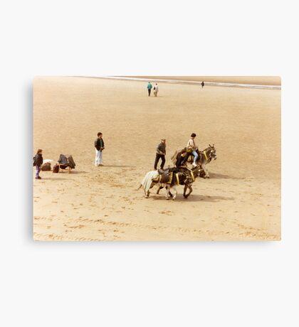 Blackpool's Donkeys Canvas Print