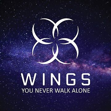 BTS - Wings with Text Galaxy Version by jongminguk