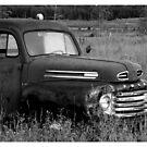 Old Truck 2 - b&w by Danita Hickson