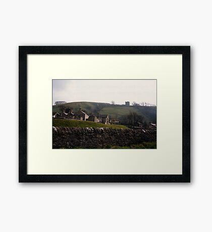 Castleton Castle Framed Print