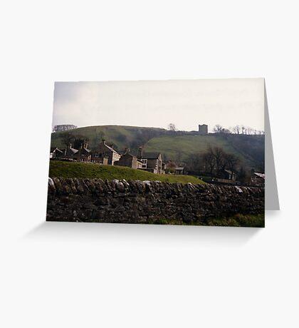 Castleton Castle Greeting Card