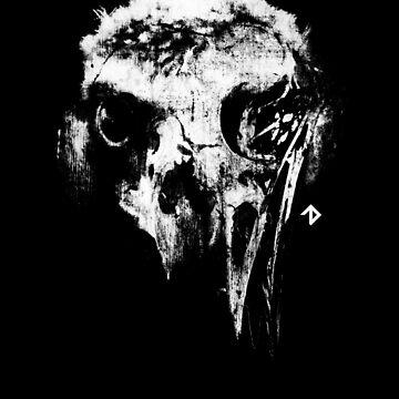 Vulture Skull by hunchbacktravis