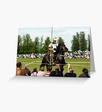 Knight in Shiny Armour Greeting Card