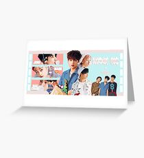 Chewing Gum (ft. Haechan, Mark, & Jeno) Greeting Card
