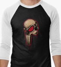 Bloody Skull  Men's Baseball ¾ T-Shirt