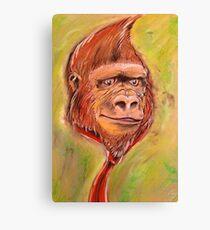 Realistic Donkey Kong Canvas Print