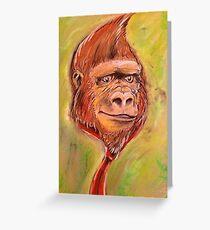 Realistic Donkey Kong Greeting Card