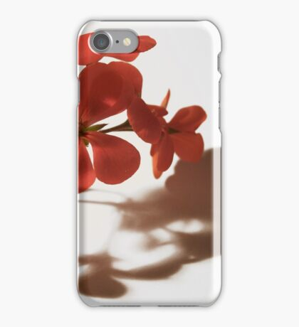 Geranium - Floral Photography iPhone Case/Skin