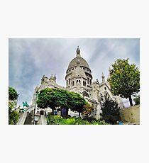 Sacre-Coeur Basilica Study 3  Photographic Print