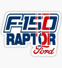 F-150 Raptor Flag Sticker