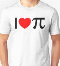 I Heart Pi - I Love Pi Unisex T-Shirt