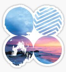 BTS - Wings Sunset Version Sticker