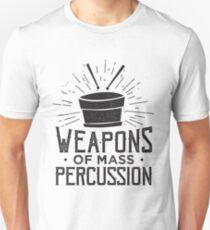 Mass Percussion - Drummer Drums Musiker Slim Fit T-Shirt