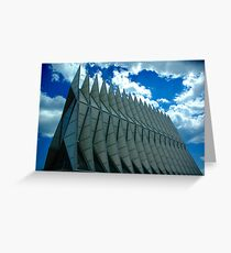 Air Force Academy Chapel Greeting Card
