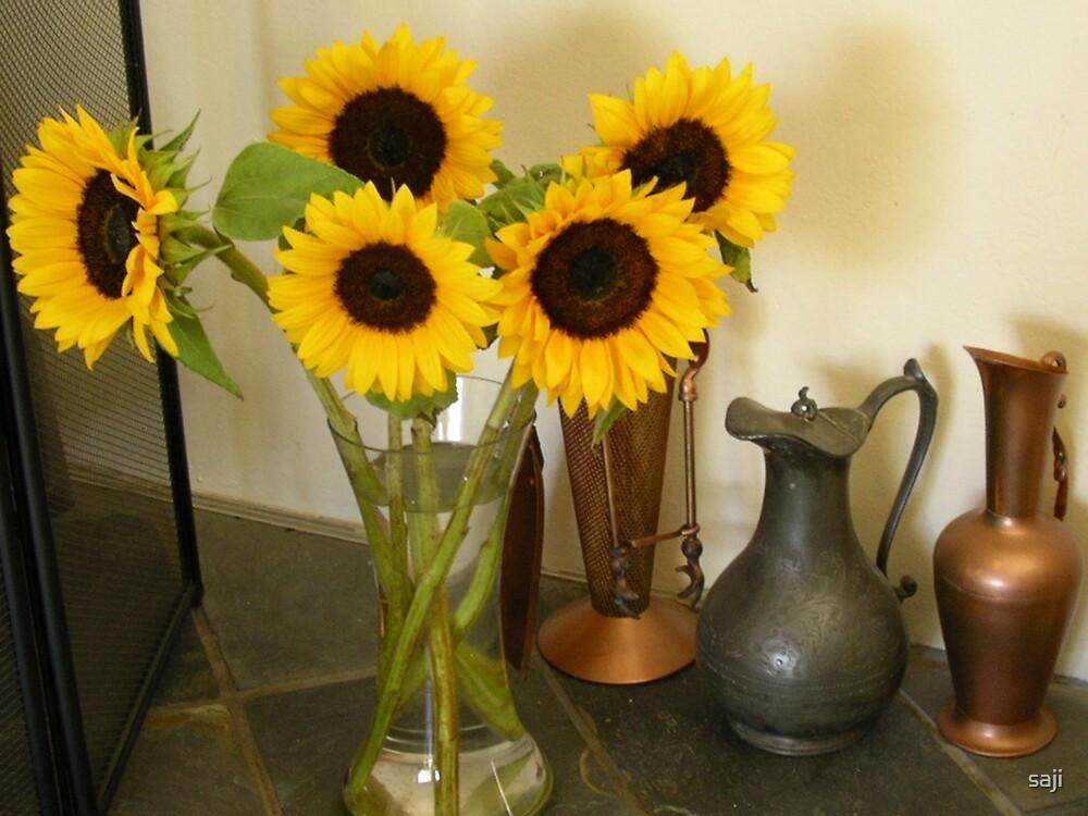 Sun Flowers by saji