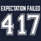 Error 417 - Expectation Failed - White Letters by JRon