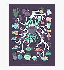 Pinch Pot Infographic Photographic Print