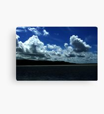 Portmeirion Sky Canvas Print