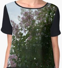 Floral View from Below Chiffon Top
