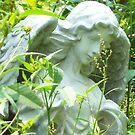 Garden Angel by Mojha Renee MacDowell