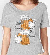 Drink around the world Women's Relaxed Fit T-Shirt
