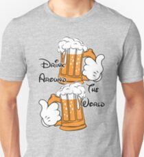 Drink around the world Unisex T-Shirt
