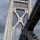 Mid-Hudson Bridge IIII by Mojha Renee MacDowell