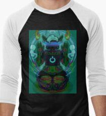 TECHNOWYTCH Men's Baseball ¾ T-Shirt