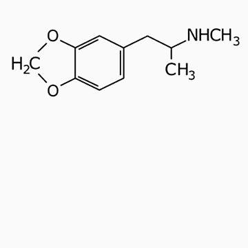 MDMA Molecules by Psygarden