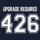 Error 426 - Upgrade Required - White Letters by JRon