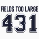 Error 431 - Fields Too Large - Navy Letters by JRon