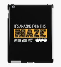 Holy Grail - Jay-Z - Black iPad Case/Skin