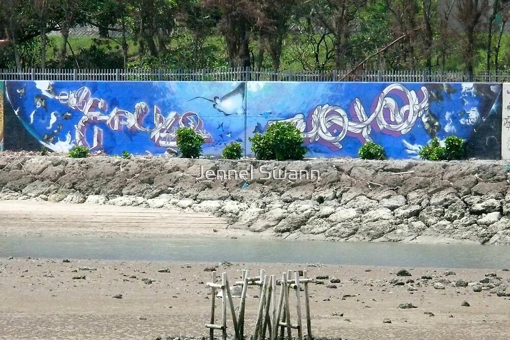 Graffiti I by Jennel Swann