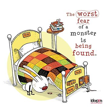 IckyPen - Monsters Under the Bed by ickypen