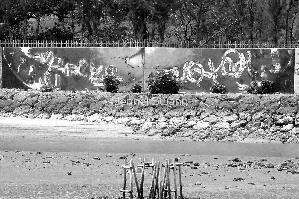 Graffiti II by Jennel Swann