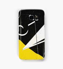 Mustard Black Samsung Galaxy Case/Skin