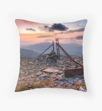 Thrid Time Lucky Throw Pillow