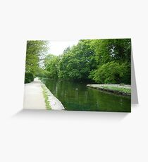 The Cromford Canal Greeting Card