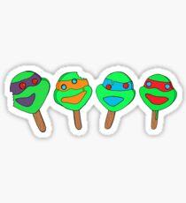 Teenage Mutant Ninja Turtle Popsicles Sticker