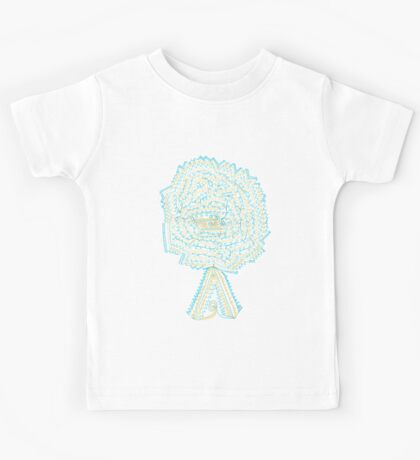 Azure & Gold Tree Kids Clothes