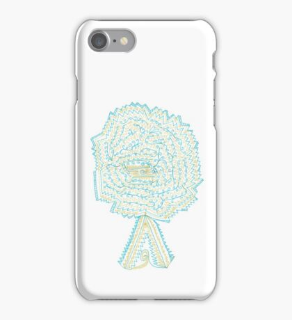 Azure & Gold Tree iPhone Case/Skin