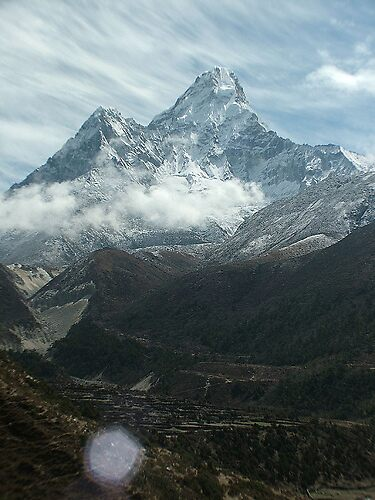 Ana Dablam by Sarah Jones