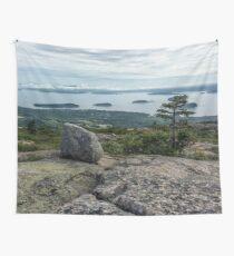 travel mountain ocean water nature wall tapestry Acadia National Park Maine 3 Wall Tapestry