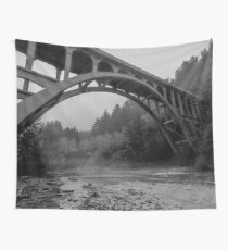Travel Cape Creek Bridge near the Haceta Head Lighthouse - Florence, Oregon Wall Tapestry
