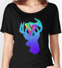Acrylic Deer - Ode to Neon Women's Relaxed Fit T-Shirt