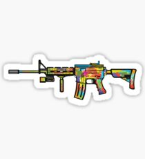 AR-15 Expression Sticker