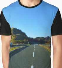 The road Graphic T-Shirt