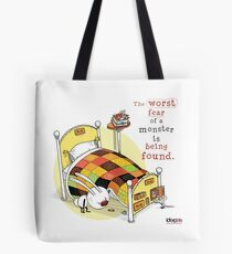 IckyPen - Monsters Under the Bed Tote Bag