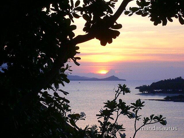 Koh Samui Sunset by mandasaurus